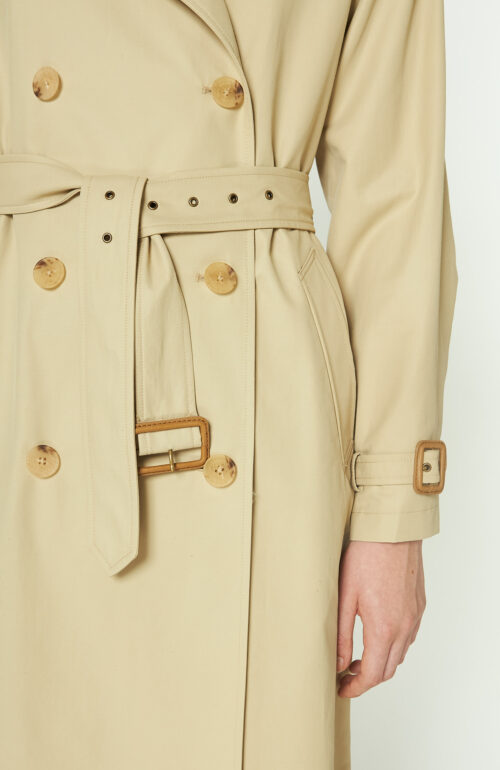 Nili Lotan Tanner Trenchcoat beige