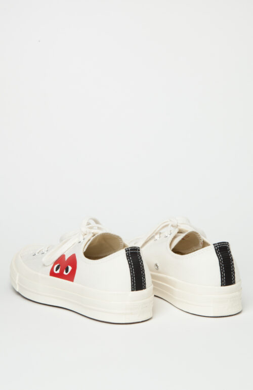 Comme des Garcons Play Converse weiß low