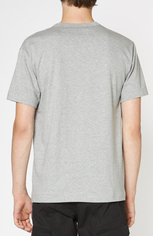Comme des Garcons graues t-shirt play logo schwarz