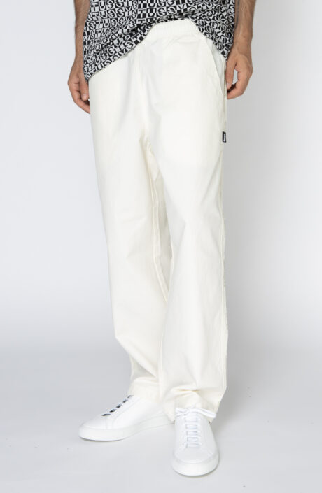 "Stüssy Naturweiße Hose ""Easy Panel Pant"""