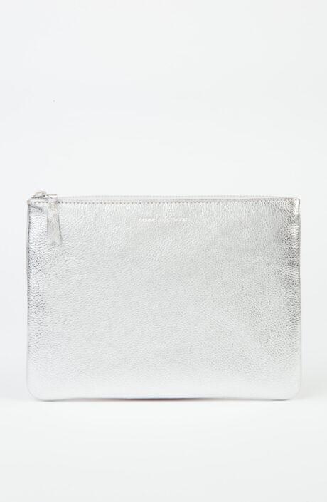 Comme des Garçons Wallet SA5100 Metallic Silber