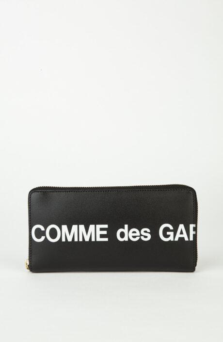 Comme des Garçons Wallet SA0110 Huge Logo Schwarz