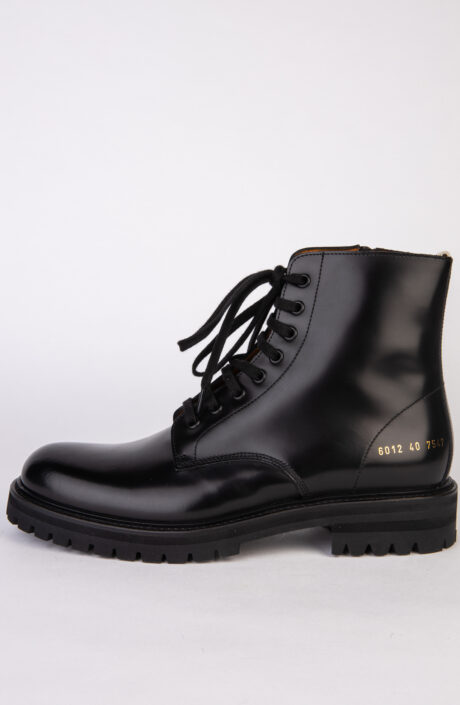 Common Projects Combat Boot 3872 Schwarz