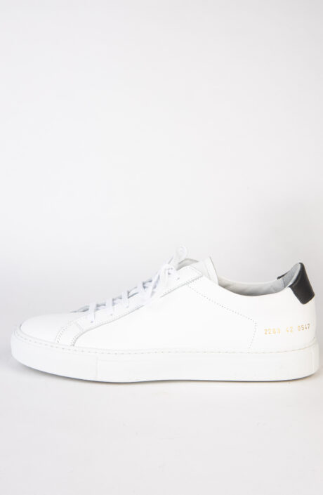 Common Projects Sneaker Retro Low White Black