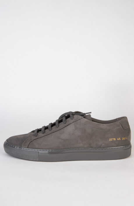Common Projects Sneaker Achilles Nubuck Hellgrau