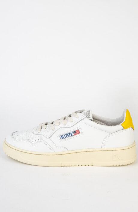Autry Sneaker Medalist weiß gelb