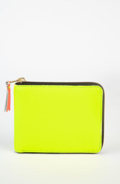Comme des Garçons Wallet SA7100 super Fluo Portemonnaie gelb