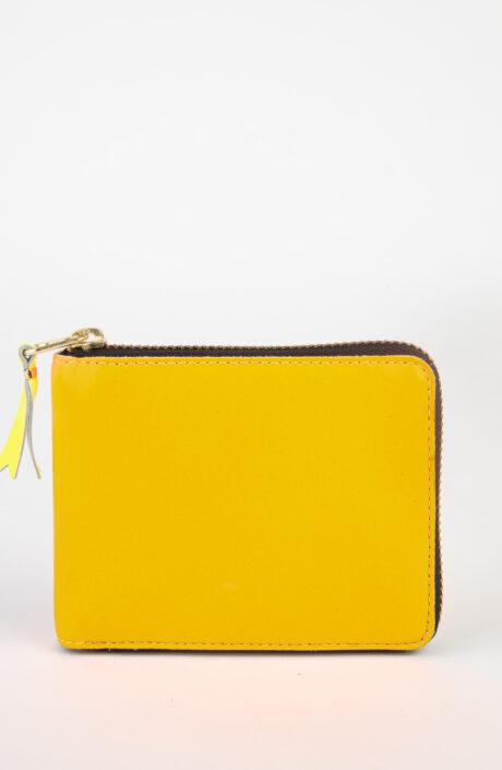 Comme des Garçons Wallet SA7100 super Fluo Portemonnaie orange