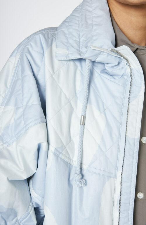 Mantel Diaomia Light Blue
