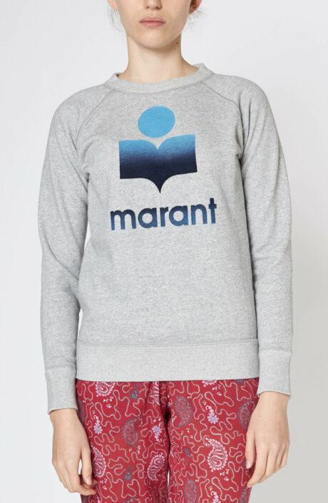 "Grauer Logo-Sweater ""Milly"""