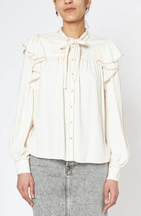 Bluse Tabitha blanc
