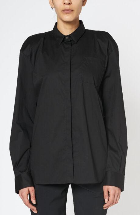 Bluse Box Shirt black
