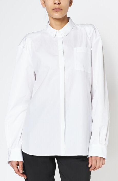 Bluse Box Shirt white