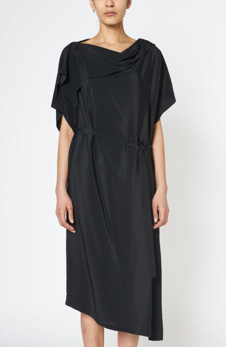 Diagonal Dress black
