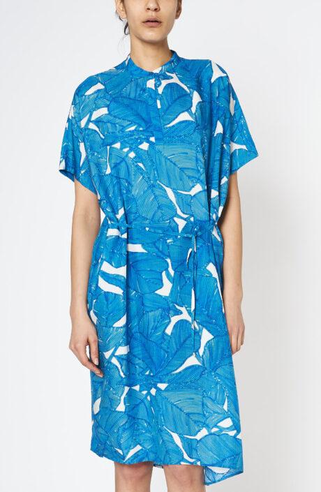 Kleid Dipha blue ficus