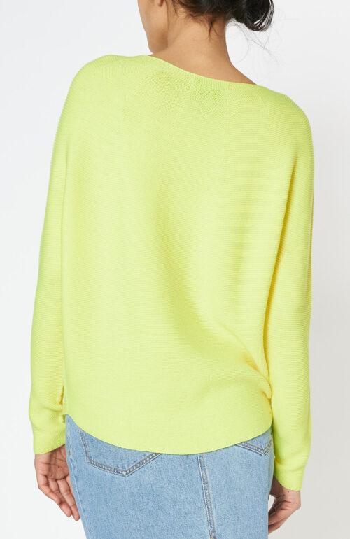 Pullover kopa fluo yellow merino