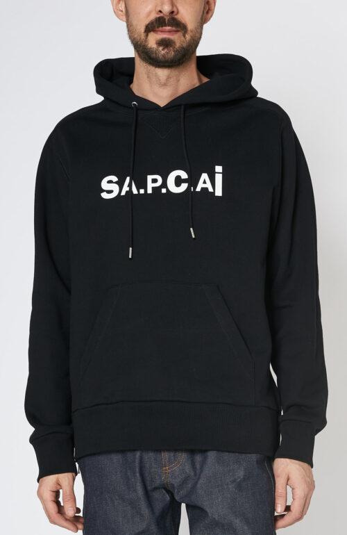 Apc sacai Taiyo sweater kaput schwarz