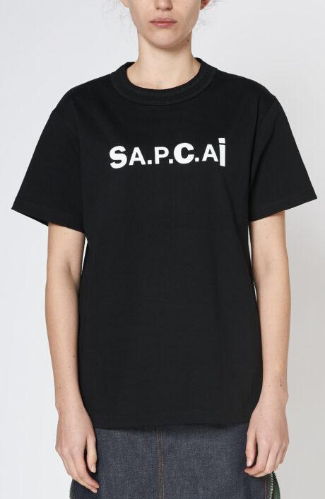 "Schwarzes T-Shirt ""Kiyo"""
