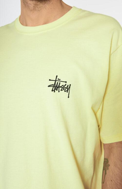 Gelbes Basic Logo T-Shirt