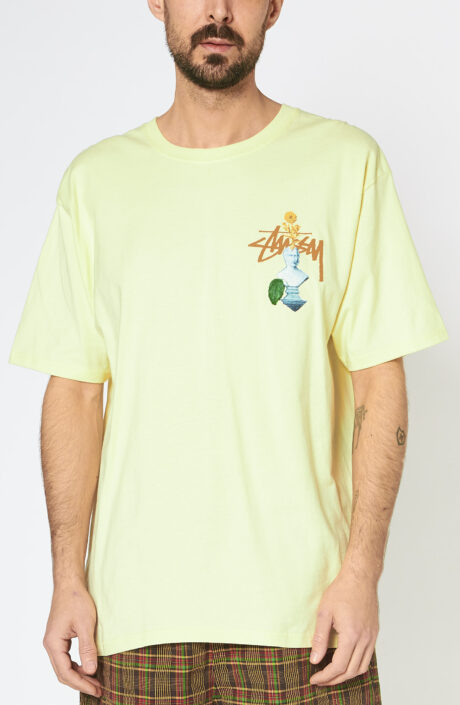 """Gelbes T-Shirt """"Psychedelic"""""""
