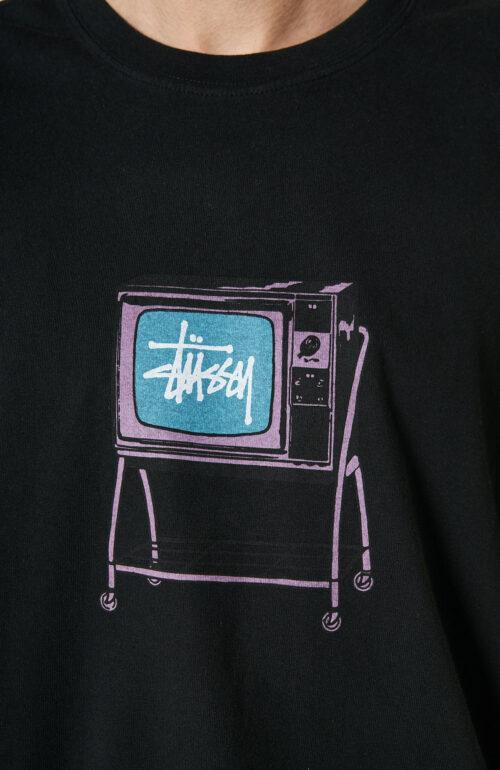 "Schwarzes T-Shirt ""Rolling TV"""