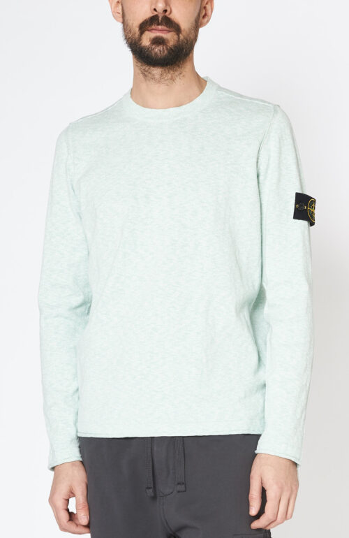 """Hellgrüner Pullover """"502b0"""" aus Baumwolle"""