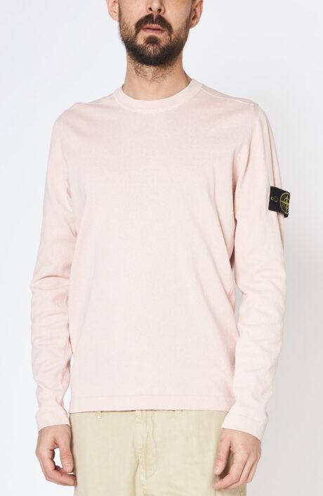 """Rosé-farbener Pullover """"502b0"""" aus Baumwolle"""