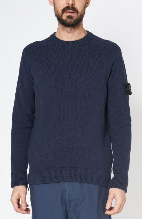 """Dunkelblauer Pullover """"550d2"""" aus Baumwolle"""