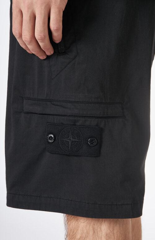 """Schwarze Shorts """"L06F2"""" aus der Ghost Serie"""