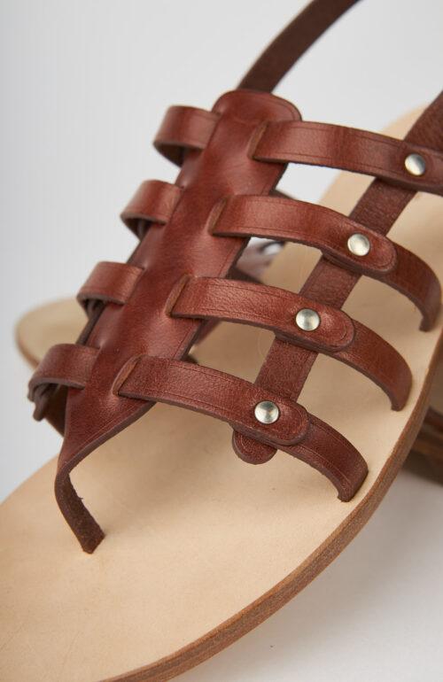 "Braune Sandale ""Eloise"""