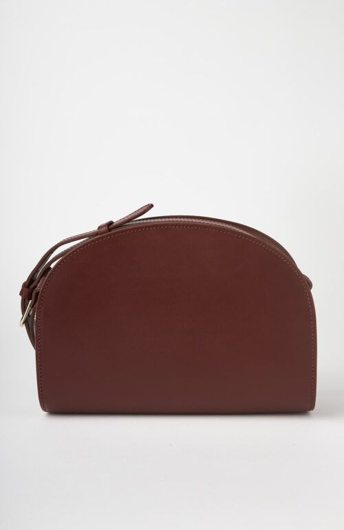 """Weinrote Tasche """"Halfmoon Bag"""""""