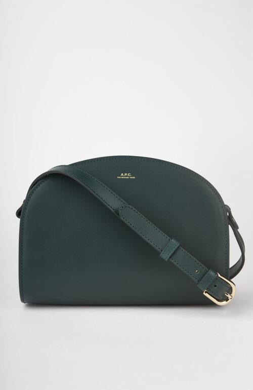"""Dunkelgrüne Tasche """"Halfmoon Bag"""""""