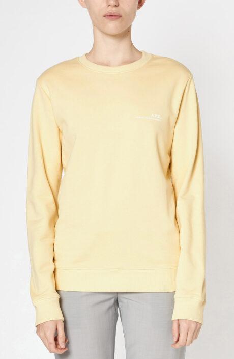 Gelber Sweater aus Baumwolle