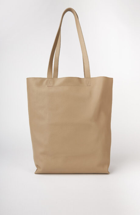 "Shopping Bag ""Maiko"" in taupe"