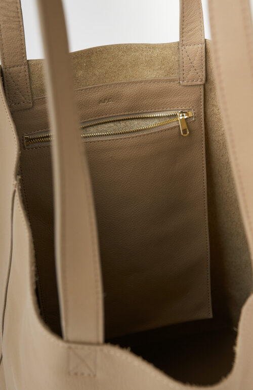 """Shopping Bag """"Maiko"""" in taupe"""