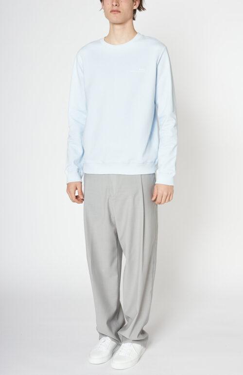 "Hellblauer Sweater ""Item"""
