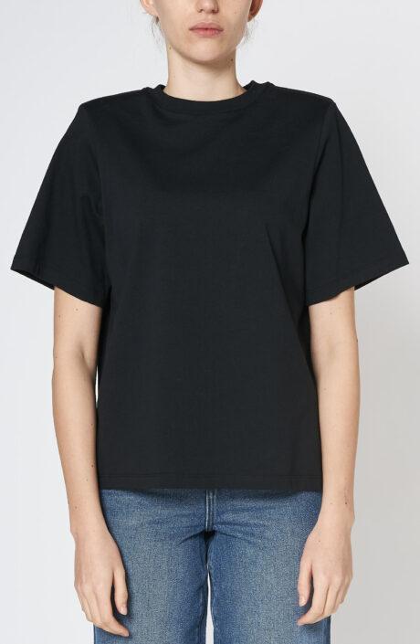 "Schwarzes T-Shirt ""Lela"""