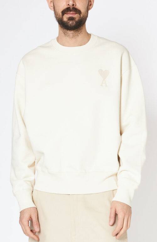 Cremeweißer Sweater