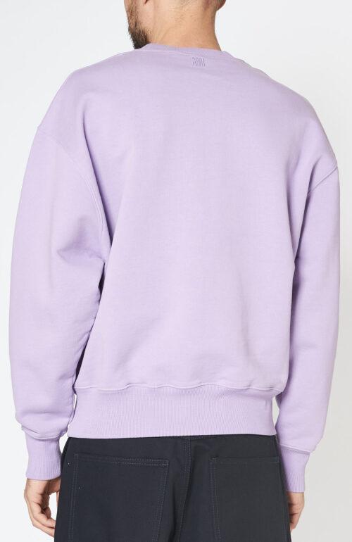 Fliederfarbener Sweater