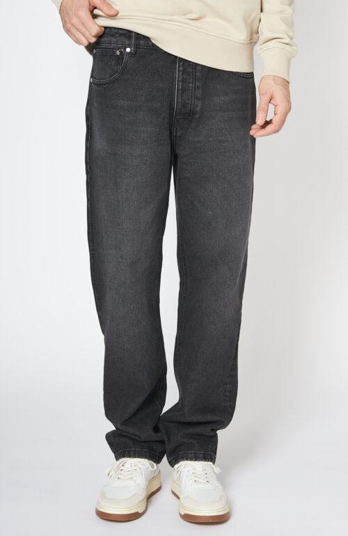 Schwarze Jeans Straight Fit