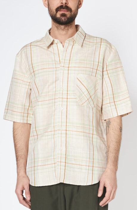 Kariertes Kurzarmhemd