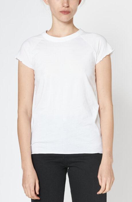 """Weißes T-Shirt """"Baseball Tee"""""""