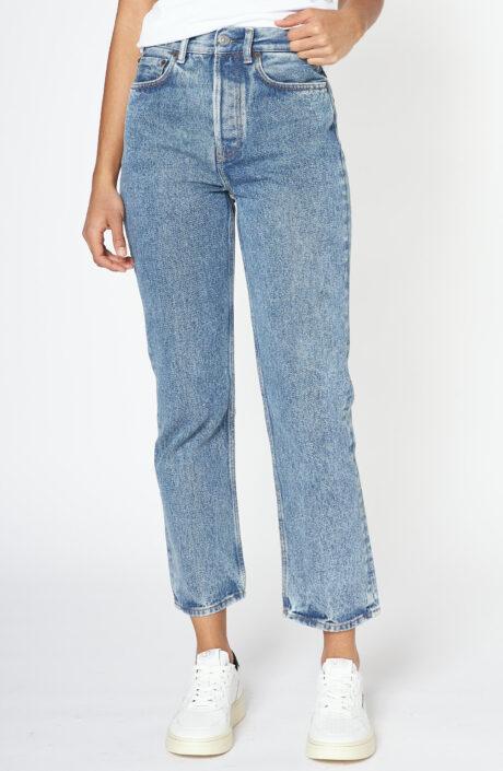 "Hellblaue High-Waist-Jeans ""Mece"""