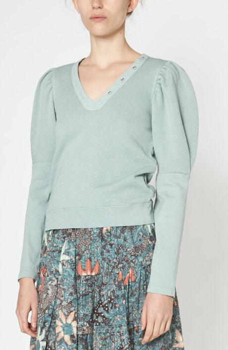 """Sweater """"Jude"""" in salbeigrün"""