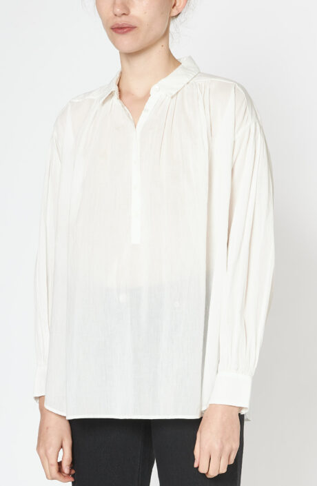 """Weiße Bluse """"Miles"""""""