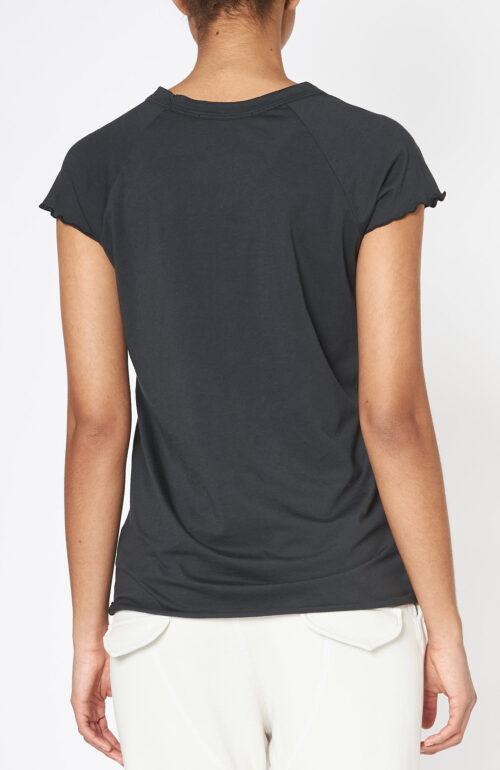 """Schwarzes T-Shirt """"Baseball Tee"""""""