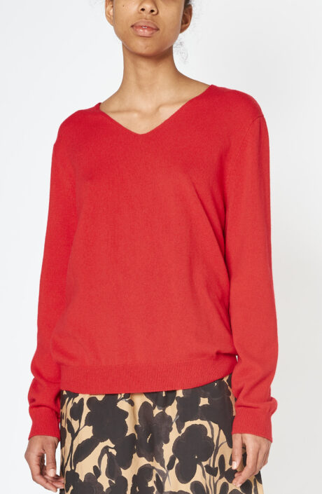 "Roter Pullover ""Ara"""