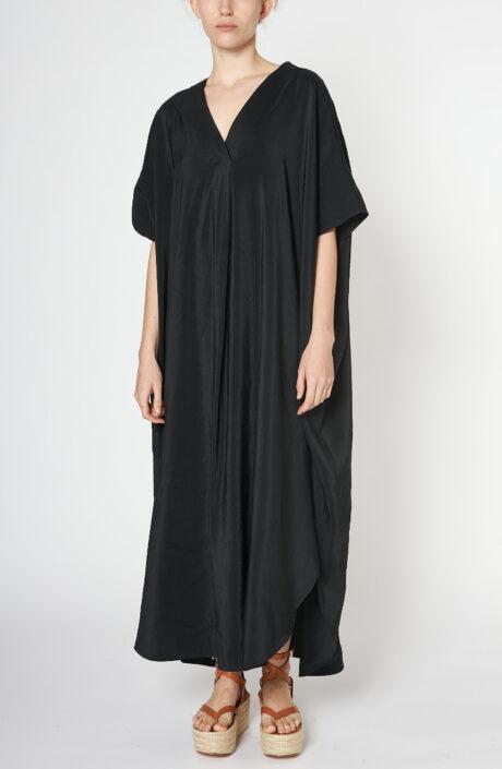"""Schwarzes Kaftan-Kleid """"Dali"""""""