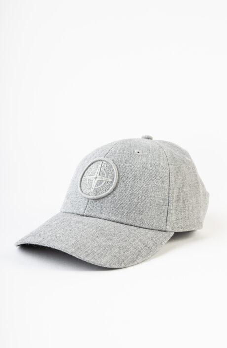 Graue Baseball Cap mit Logo