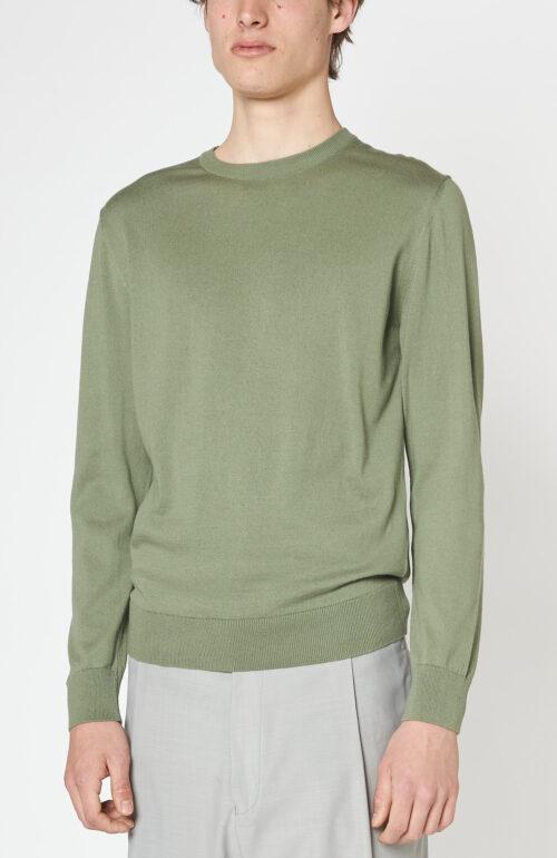 """Salbeigrüner Pullover """"Julien"""""""